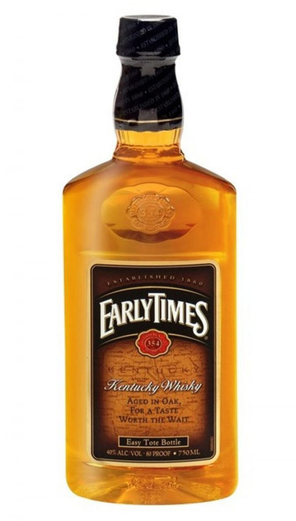 Early Times Kentucky Straight Bourbon Whiskey 750ML