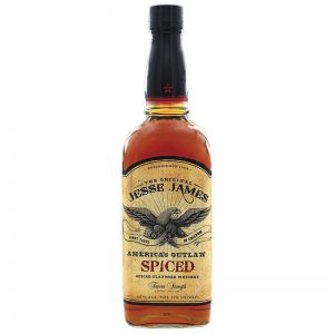 Jesse James American Outlaw Spiced 750ML