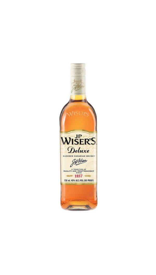 J.P. Wiser's Deluxe Canadian Whisky 750ML