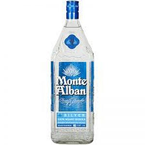Monte Alban Silver Tequila 750ML